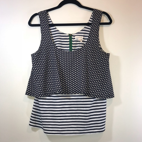 Anthropologie Tops - [Anthro] Meadow Rue Throughway Tank - #1072